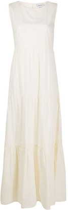 Woolrich tiered maxi dress