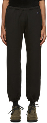 Needles Black Zippered Lounge Pants