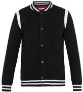 Givenchy Logo-embroidered Wool-blend Varsity Jacket