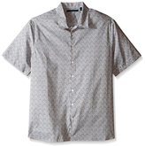 Perry Ellis Men's Big and Tall Exclusive Wave Print