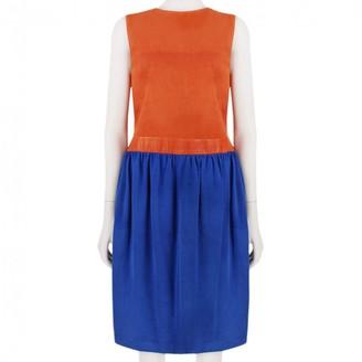 Martin Grant Multicolour Leather Dress for Women