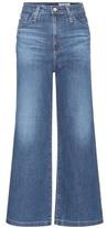 AG Jeans Yvette High-rise Wide-leg Jeans