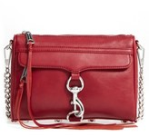 Rebecca Minkoff 'Mini Mac' Convertible Crossbody Bag - Burgundy