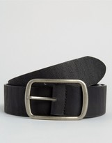 Asos Belt With Circular Buckle