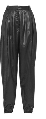 Tibi Liquid Drape Pleated Pants
