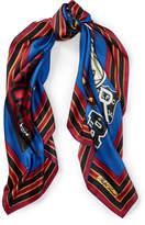 Polo Ralph Lauren Crest Silk Scarf