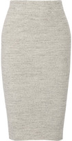 James Perse Ribbed Stretch-Cotton Skirt