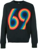 Paul Smith 69 print sweatshirt