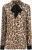 Twin-Set leopard print blouse