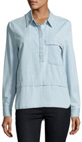The Fifth Label Vantage Point Striped Shirt, Blue