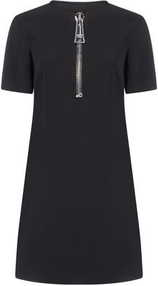 Moschino Zipped Mini Dress