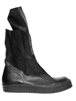 Rick Owens Nappa Leather 'ramones' Boots