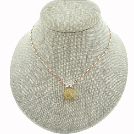 Mabel Chong - Rutilated Quartz Necklace