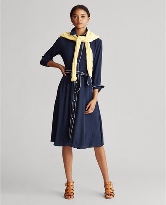 Ralph Lauren Buckled Shirtdress