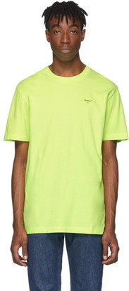Off-White Yellow Arrows T-Shirt