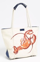 Milly Lobster Print Canvas Tote Multi