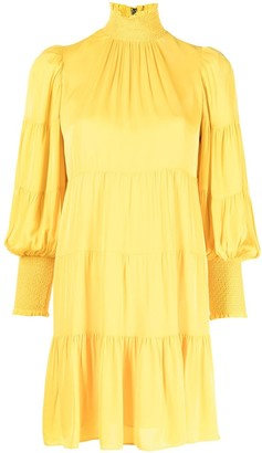 Alice + Olivia Karena tiered mini dress