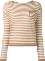 Barena striped knitted blouse - women - Silk/Cashmere/Virgin Wool - M