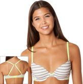 So ® bra lace-trim lightly lined