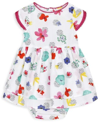 Catimini Baby Girl's 2-Piece Floral Dress & Bloomers Set