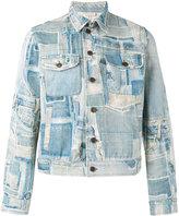Dries Van Noten patch detail denim jacket - men - Cotton - 48