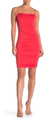 Love by Design Ruched Bodycon Mini Dress