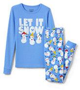 Classic Girls Snug Fit Graphic PJ Set-Let It Snow