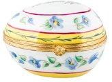 Tiffany & Co. Le Tallec Egg-Form Porcelain Box