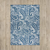 Andover Mills Pearl Ivory/Blue Indoor/Outdoor Area Rug Rug