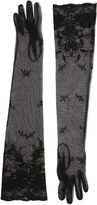 Ann Demeulemeester Long Cotton Lace Gloves
