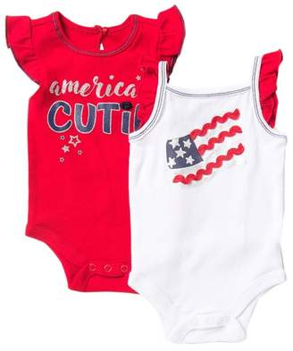 Baby Starters American Cutie Bodysuit - Pack of 2