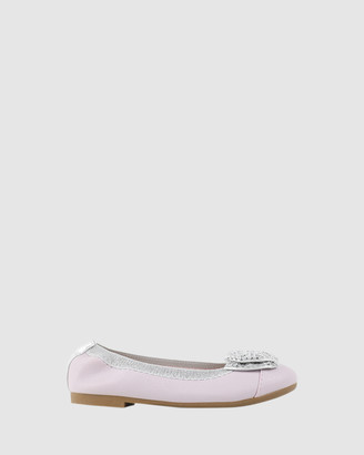 Candy Charm Sequin Bow Ballet Flats