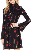 Vince Camuto Floral Print Bell Sleeve Dress