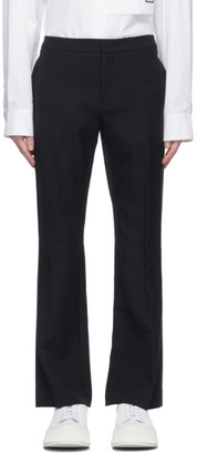 System Navy Bell Bottom Trousers