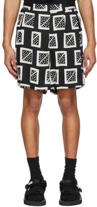 SASQUATCHfabrix. Black Masu Shorts