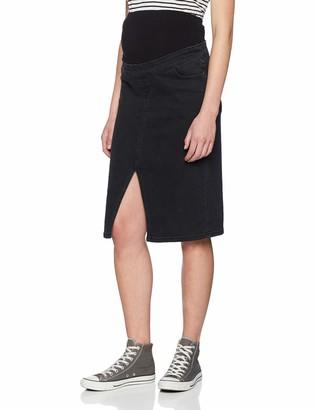 New Look Maternity Women's Split Front Pencil Skirt