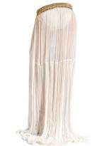 Maria Lucia Hohan Silk Muslin Long Skirt