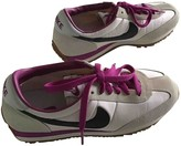 Nike Cortez White Cloth Trainers