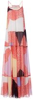 Diane von Furstenberg Baylee Chiffon Maxi Dress