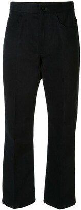 Jil Sander Pleated Detail Cropped Trousers