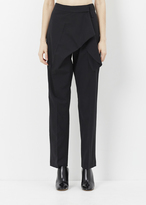 J.W.Anderson black single knot trouser