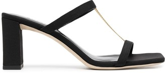 BY FAR Square Toe Open Sandals