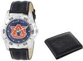 "Game Time Men's COL-WWS-AUB ""Watch & Wallet"" Watch - Auburn"