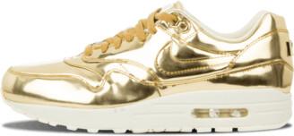 Nike Womens Air Max 1 SP 'Liquid Gold' Shoes - 11.5W