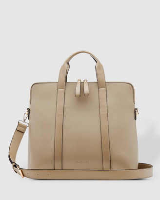 Louenhide - Women's Brown Laptop Bags - Rhodes Laptop Bag - Size One Size at The Iconic