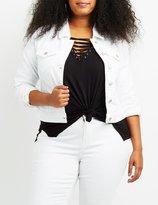 Charlotte Russe Plus Size Denim Jacket