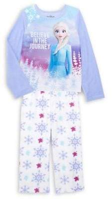 AME Sleepwear Girl's 2-Piece Disney's Frozen 2 Elsa Pajama Set
