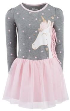 Epic Threads Toddler Girls Graphic Side Fringe Tutu Dress