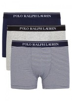 Polo Ralph Lauren Classic Stretch Cotton Boxer Briefs - Set Of Three