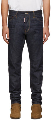 DSQUARED2 Indigo Resin 3D Cool Guy Jeans